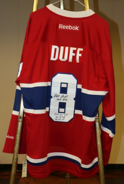 Dick Duff Signed Jersey